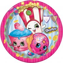 Assietter Shopkins 8-pack
