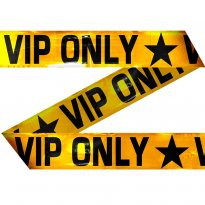 Avspärrningsband vip only 1500 cm
