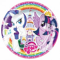 Assietter My Little Pony party 8-pack