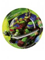 Tallrikar Turtles 8-pack