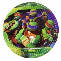 Assietter Turtles 8-pack