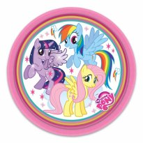 Tallrikar My Little Pony Rainbow, Twilight & Fluttershy 8-pack