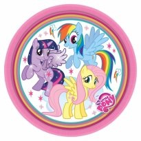 Assietter My Little Pony Twilight, Rainbow & Fluttershy 8-pack