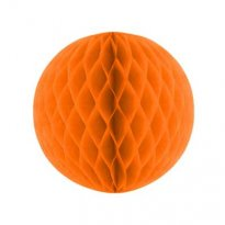 Pappersdekoration orange 20 cm