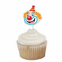 Muffinstoppar circus clown 12-pack