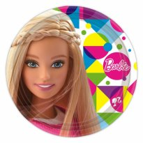 Tallrikar Barbie 8-pack