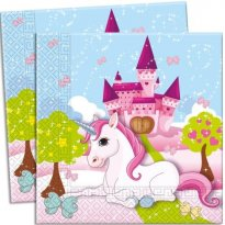 Servetter motiv Unicorn Sweet 20-pack