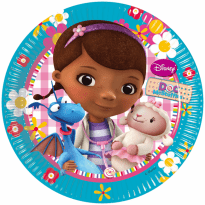 Assietter Doc McStuffins 8-pack