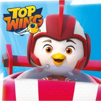 Servetter Top Wing 16-pack