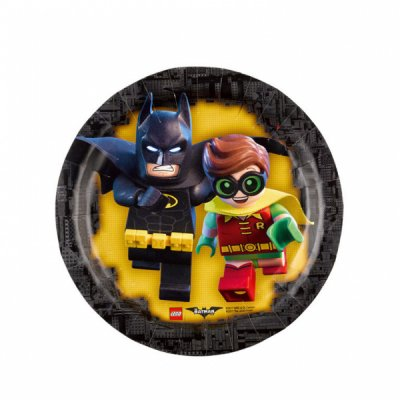Assietter Lego Batman 8-pack