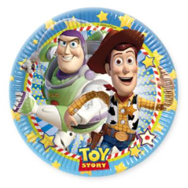 Assietter Toy Story 8-pack
