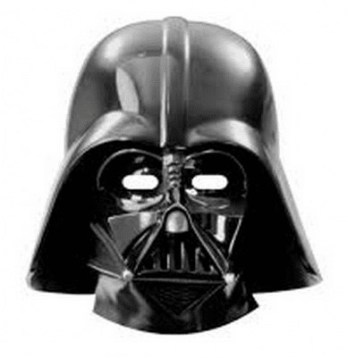 Ansiktsmasker Star Wars Darth Vader 6-pack