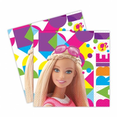 Servetter Barbie 20-pack