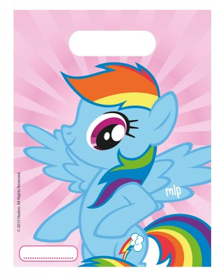 Godispåsar My Little Pony Rainbow Dash 6-pack