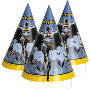 Partyhattar Batman 8-pack