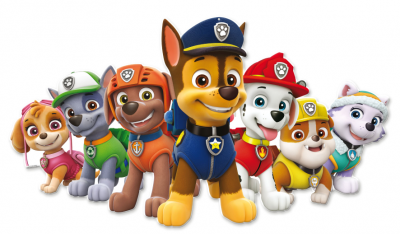 Superstor dekoration Paw Patrol